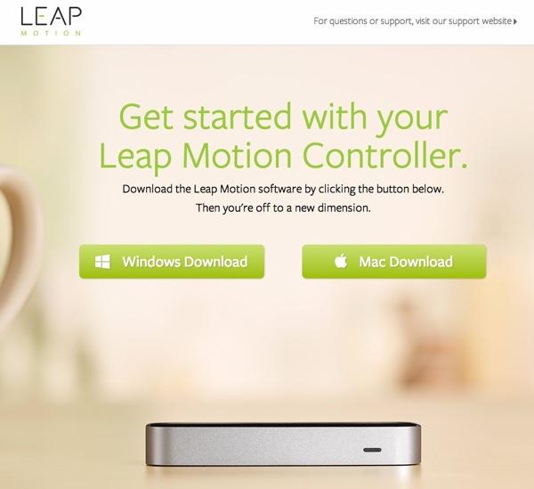 Leap Motion | Setup  Early Access